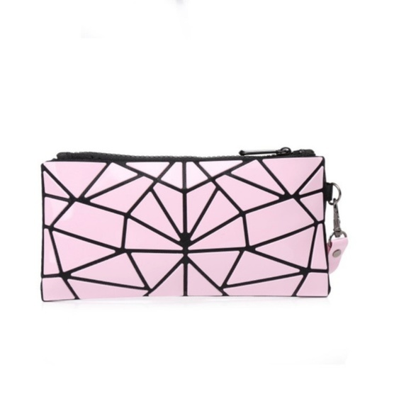 Zip It Pink Purse//Pouch Brand New